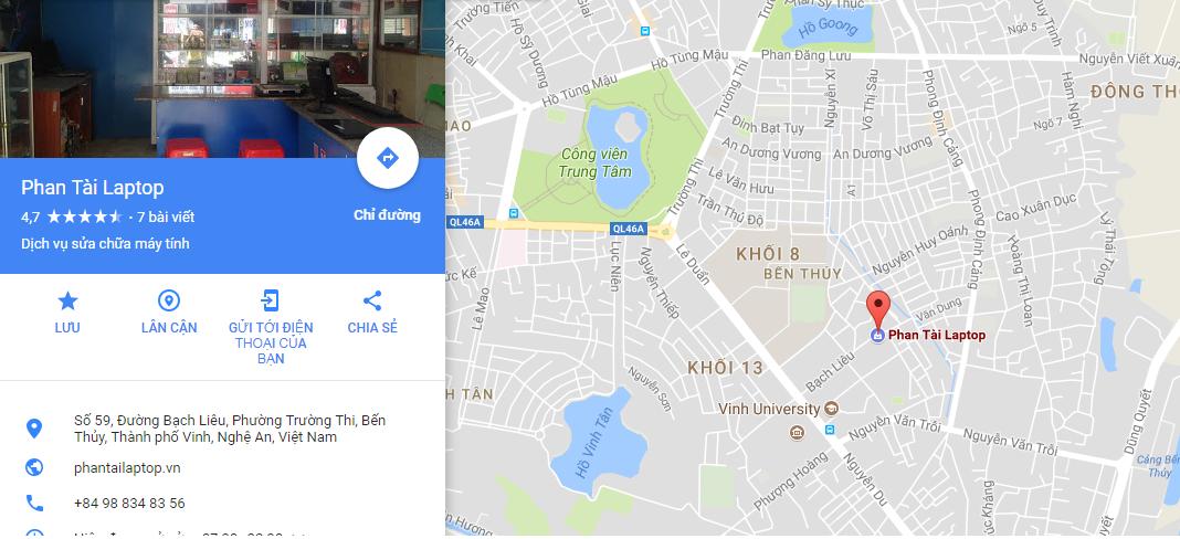 sua laptop tai phantailaptop - Sửa chữa laptop uy tín tại Vinh