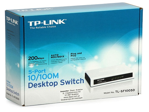 switch tp link 5 cong - Swicth TP-Link 5 Port
