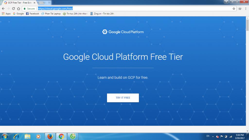 huong dan tao vps google cloud 1 - Hướng dẫn tạo VPS Goolge Cloud miễn phí 300$ 1 năm