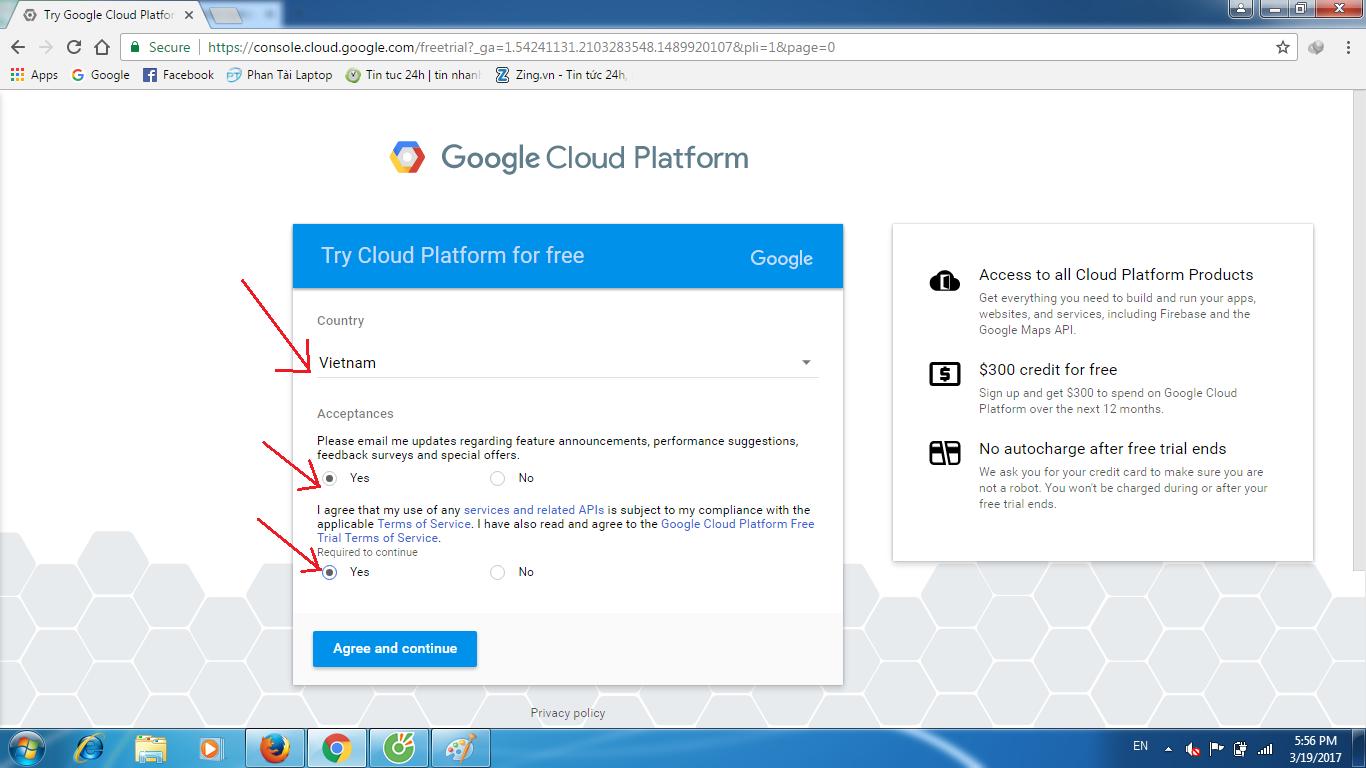 huong dan tao vps google cloud 2 - Hướng dẫn tạo VPS Goolge Cloud miễn phí 300$ 1 năm