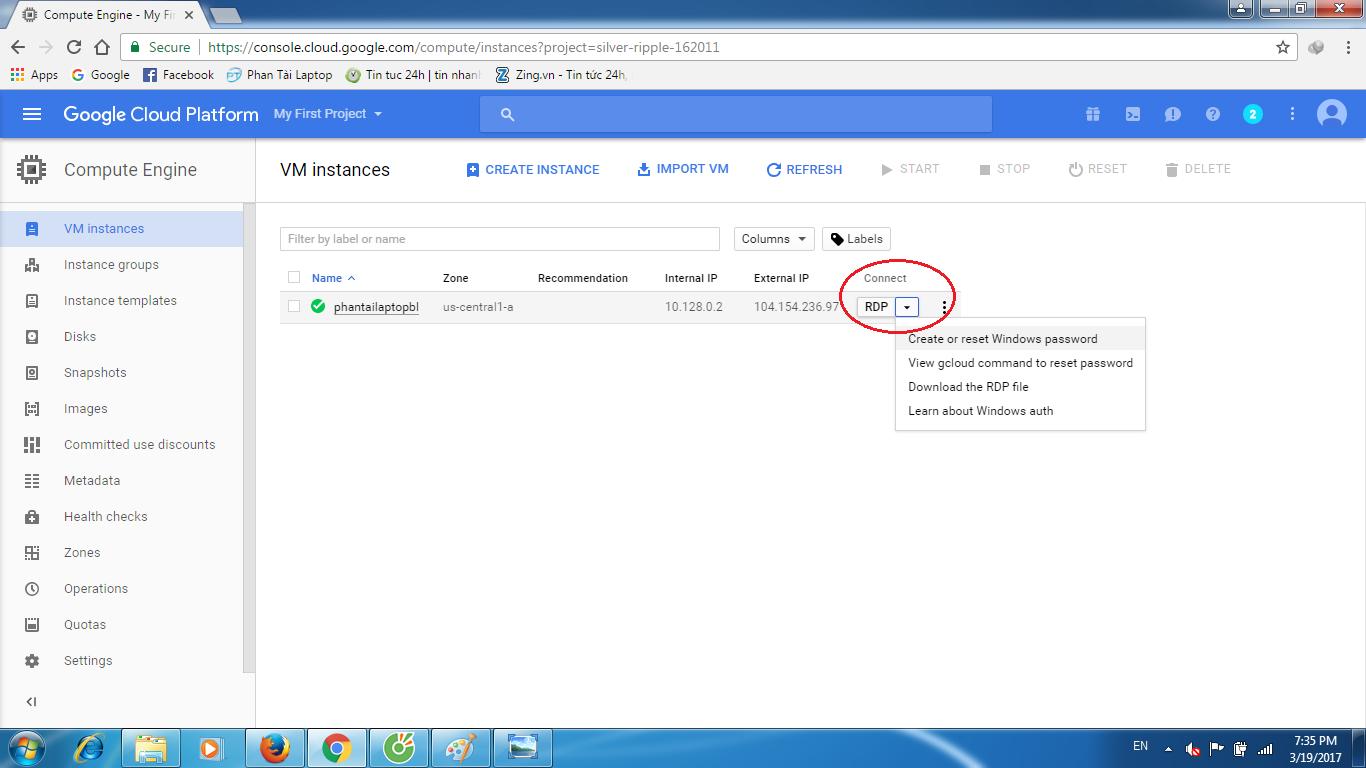 huong dan tao vps google cloud 9 - Hướng dẫn tạo VPS Goolge Cloud miễn phí 300$ 1 năm