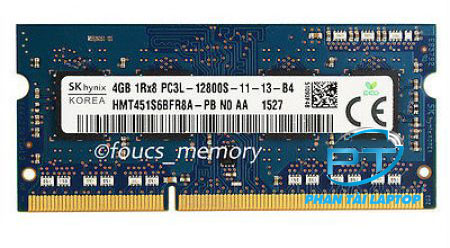 Ram Laptop DDR3 4Gb PC3L 3