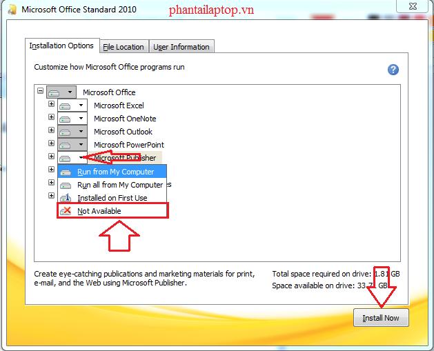 huong dan cai dat office 2010 phantailaptop4 - huong dan cai dat office 2010-phantailaptop4